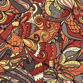 波手描きパターン — ストックベクタ