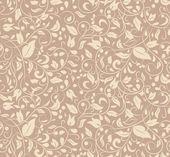 Elegant floral wallpaper — ストックベクタ