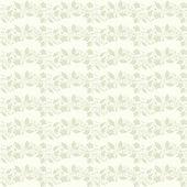 Neutral beige plant wallpaper — Cтоковый вектор