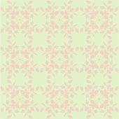 Beige floral wallpaper — Stock Vector