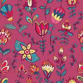 Tekstura z kwiatami — Wektor stockowy