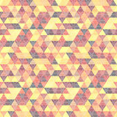 Pattern geometric with triangles — Vecteur