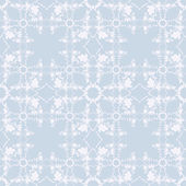 Neutral blue floral background — Stock Vector