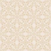 Neutral floral wallpaper — Stock Vector