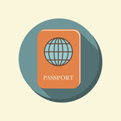 International passport — 图库矢量图片