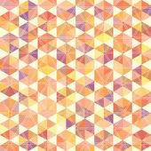 幾何学的図形のレトロなパターン — ストックベクタ