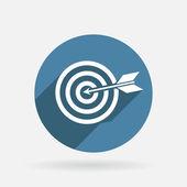 Target sign — Stock Vector