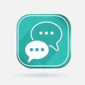 Cloud of speaking dialogue — Stock Vector