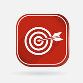 Target icon — Stock Vector