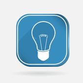 Incandescent lamp — Stock Vector
