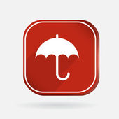Umbrella icon — Stock Vector