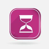 Hourglass waiting icon — Stock Vector
