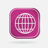 Globe symbol — Stock Vector