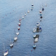 Boats on Thames river. — Stock Photo #39025069