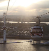 Cable car in London. — Stock Photo