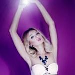 Sensual blonde woman posing. — Stock Photo