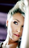 Beautiful delicate blonde woman — Stock Photo