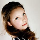 Teenager girl portrait. — Stock Photo