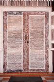Porta in legno — Foto Stock