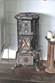 Antique stove — Stock Photo
