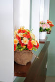 Fiore artificiale colorato — Foto Stock
