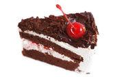 Zwarte woud taart. — Stockfoto
