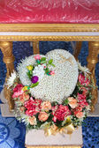Blessed water at Thai wedding ceremony. — 图库照片