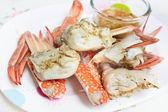 Steam crab. — Stock Photo