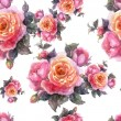 Roses Pattern — Stock Photo #41122231