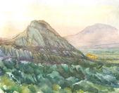 Landscape Mountains — Stock Photo