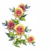Rose garland — Stockfoto