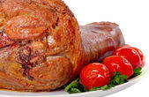 Baked meat — Stock Photo
