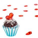 Valentine cupcake — Stock Photo #39110531