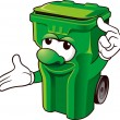 Wheelie bin — Stock Photo #39514751