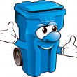 Wheelie bin — Stock Photo #39514757