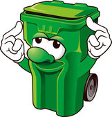 Wheelie bin — Stock Photo