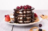 Cake of pancakes — Photo