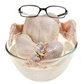 Verse rauwe kip — Stockfoto