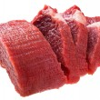 Fresh raw beef steak meat — Stock Photo