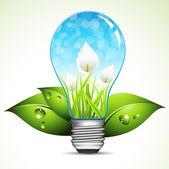 Energía verde — Vector de stock