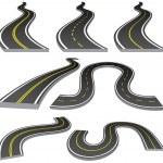Roads — Stock Vector