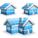 Solar panels — Stock Vector