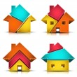Houses — Stock Vector #39810397