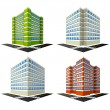 Buildings — Stock Vector #39875543