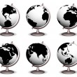 Globes — Stock Vector #39875821