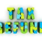 Tax refund — Stock Photo
