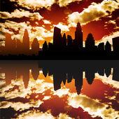 город — Cтоковый вектор