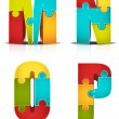 Puzzle — Stock Vector #40873069