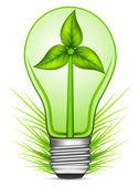 Zielona energia — Wektor stockowy