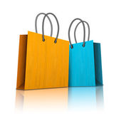Shopping bags — Stock Vector